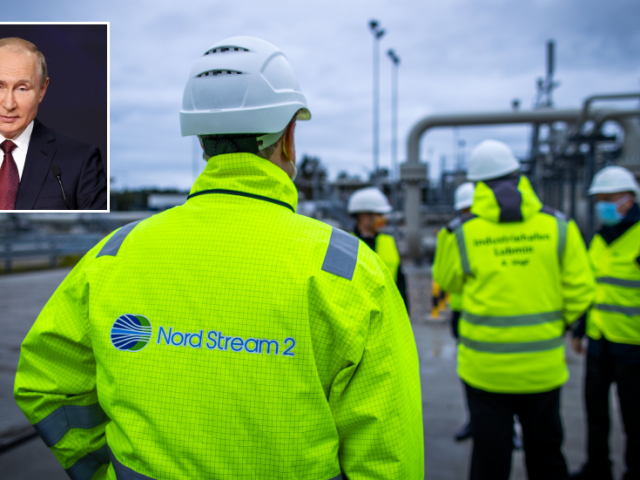 First stretch of Nord Stream 2 gas pipeline completed on Friday morning Putin reveals, despite vehement US objections to scheme