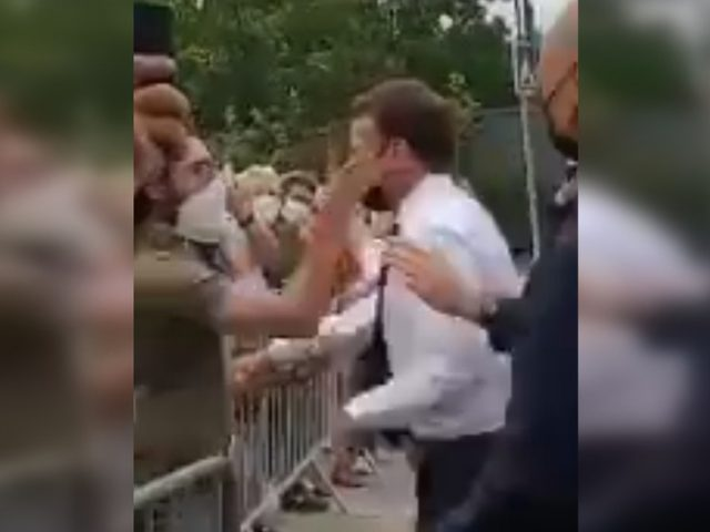 2 arrested after incident that has seen French President Emmanuel Macron SLAPPED IN FACE (VIDEO)