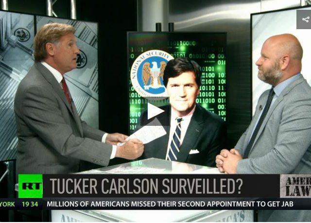 Tucker Carlson: NSA surveilling news networks