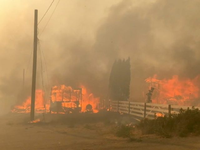 Canadian village WIPED OUT by fire amid extreme heat as 90% of homes, incl. critical infrastructure, is gone