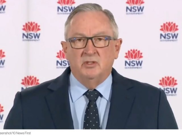 """""""We've got to accept that this is the New World Order,"""" says NSW Health Minister."""