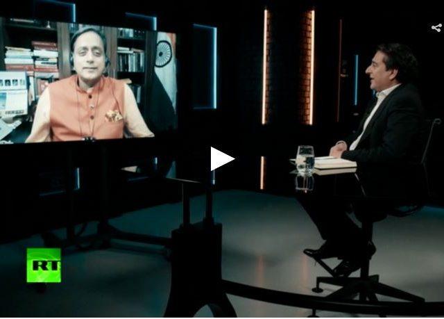Shashi Tharoor on India's Pegasus spyware scandal and Modi's coronavirus disaster