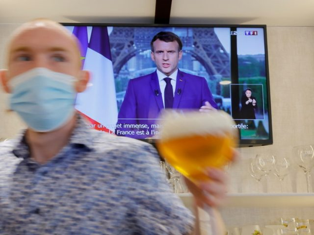 Macron delivers bad news to France: Vaccine passports, mandatory shots for health workers, AND unpopular pension reform