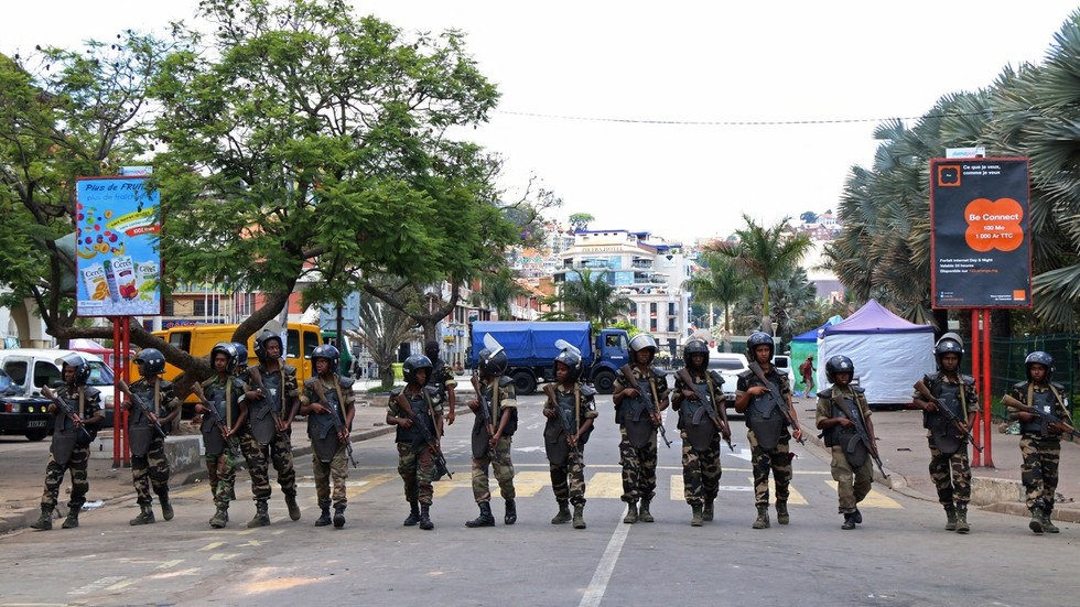 Madagascan police detained