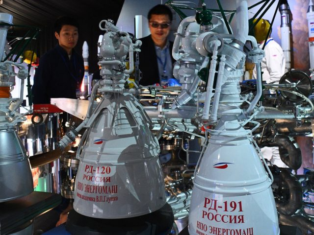 Despite Washington's sanctions against Moscow, Russia reveals it will continue cooperating with Americans on space rocket engines