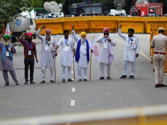 Protest against India's new farm laws reignites in New Delhi as farmers stage sit-in near parliament