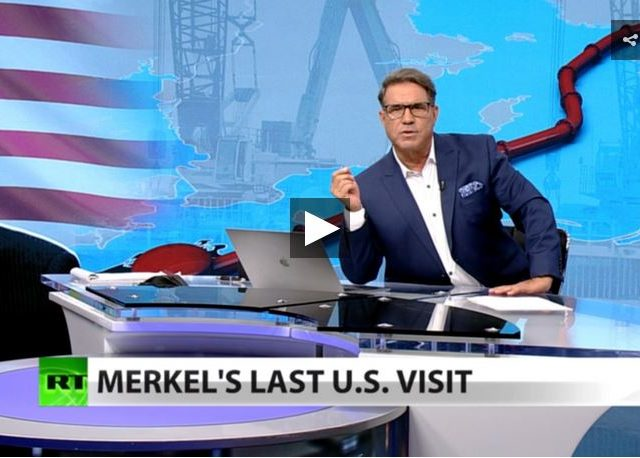 Germany under Merkel: One big US military base (Full show)