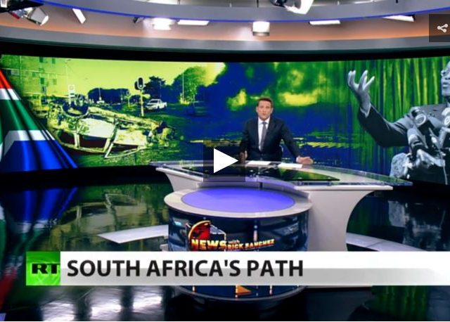 Exclusive: Media silent while South Africa burns (Full show)