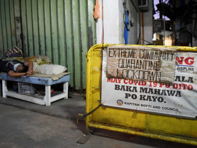 Lockdown imposed on millions of children as Philippines battles soaring Covid cases