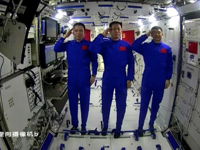Space communism? Chinese astronauts celebrate 100-year anniversary of CPC from orbit