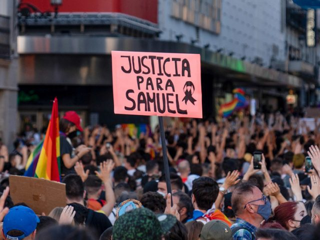 Spanish police arrest two underage suspects over high-profile murder of gay man beaten to death