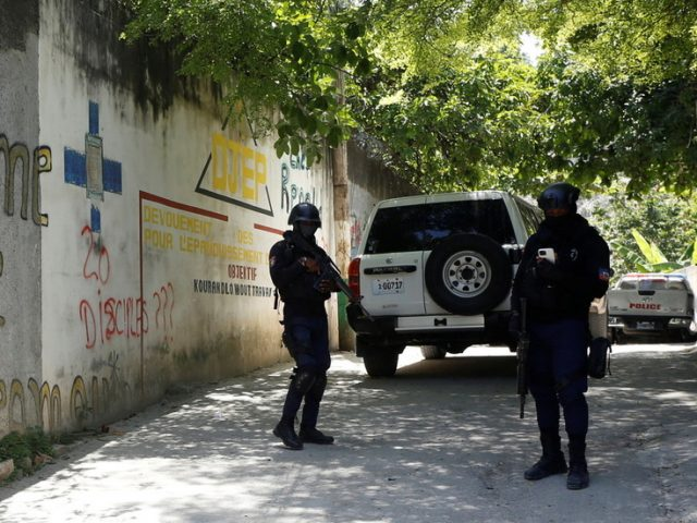 Six suspects held over Haiti president's assassination, police chief says as UN backs interim PM until elections