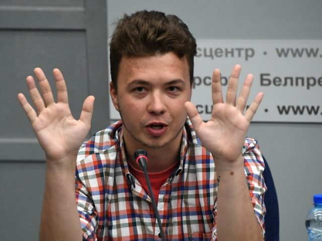 Belarusian activist Protasevich returns to Twitter from house arrest, claiming passenger jet grounding gave him fear of flying