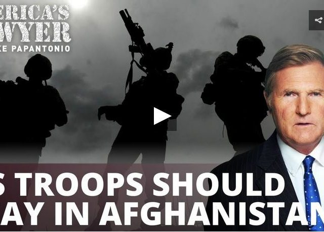 Cable news warhawks insist US should stay in Afghanistan