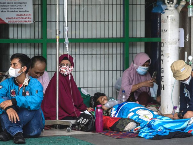 Indonesia reaches peak of second Covid-19 wave fuelled by Delta variant – health minister