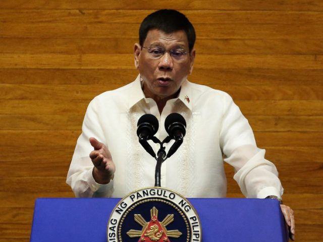Philippines' fiery-tempered leader Rodrigo Duterte agrees to run for vice president in 2022, party official confirms