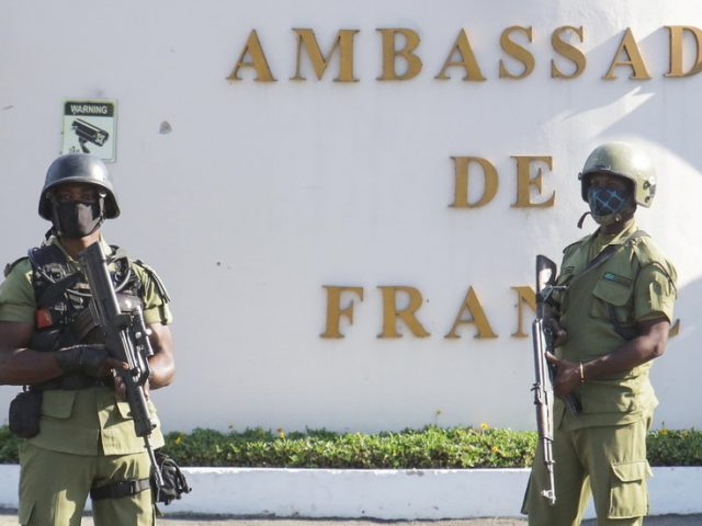 Gunman who killed four outside French Embassy in Tanzania was 'terrorist radicalized online' – police