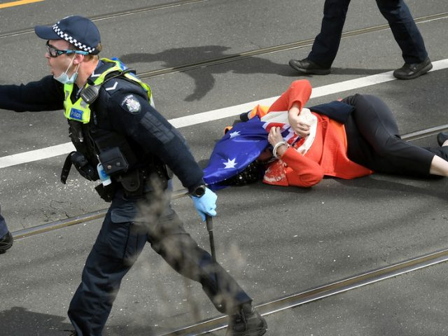 US Republicans call for sanctions against Australia over police treatment of protesters