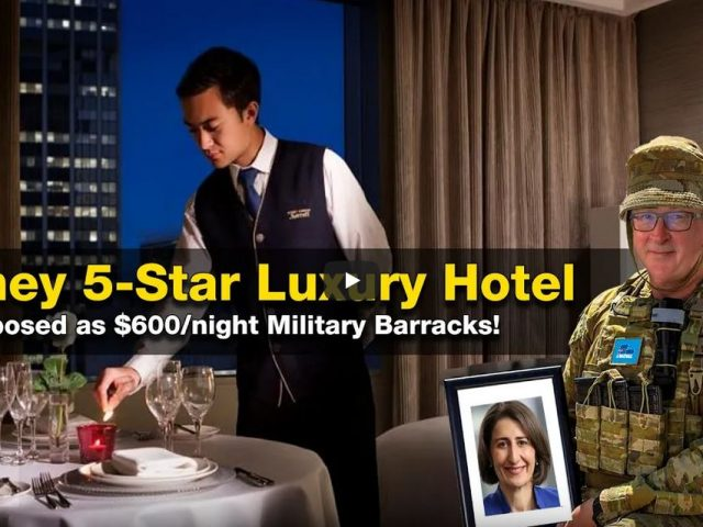 SYDNEY: Military occupies 590 rooms at Marriott Hotel for $600/night! OUTRAGEOUS! WTF!? Appeasement?