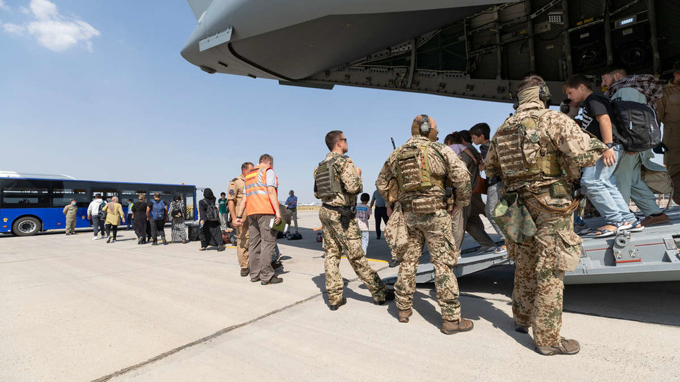 Four Afghans rescued
