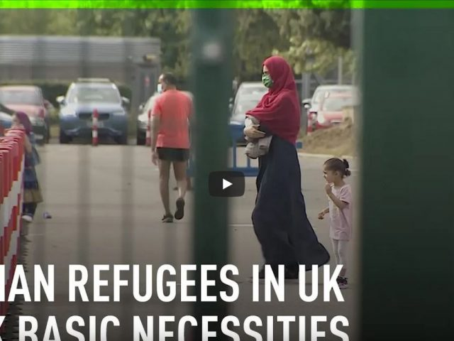 Afghan refugees in the UK raise concerns over poor living conditions