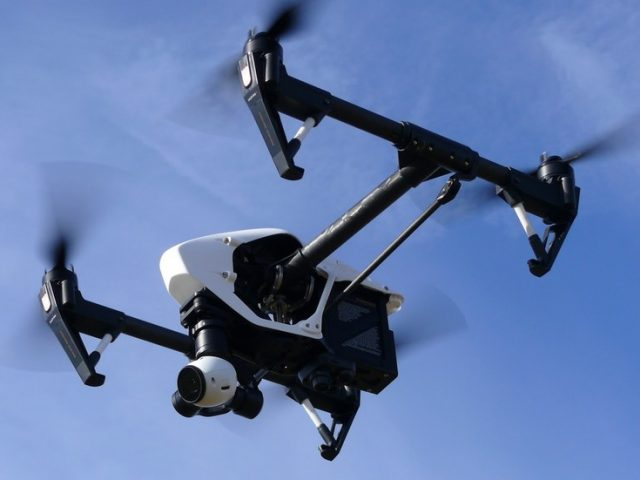 Flying drone to 'automatically' check holidaymakers' temperatures on Italian beach in case of Covid & other emergencies