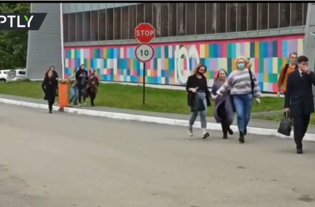Horror slaying that left 6 dead after teenage gunman stormed Perm university is tragedy for all of Russia, Putin says (PHOTOS)