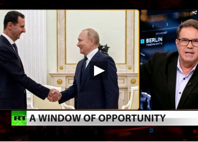 Look who's talking! Syria embraces Putin as US pulls out (Full show)