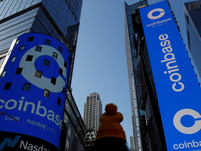US regulators threaten to sue Coinbase over crypto lending program