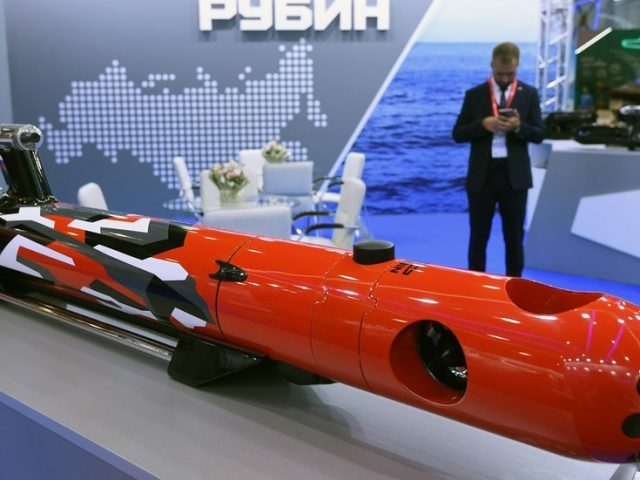 Russia begins testing of UNDERWATER DRONES that can hunt down & escort enemy submarines, designer reveals at Moscow weapons expo