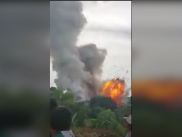 2 people hospitalized with burns after explosion at fireworks factory in Guatemala (PHOTOS, VIDEOS)