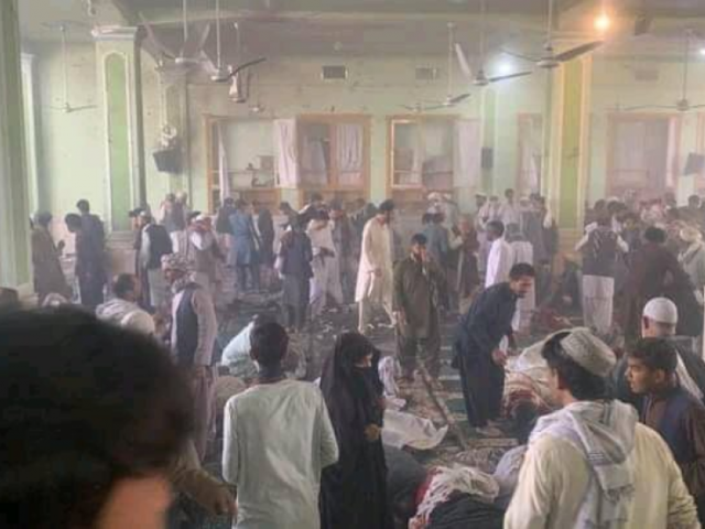 At least 33 killed and 73 wounded after explosion at mosque gates in Kandahar, Afghanistan