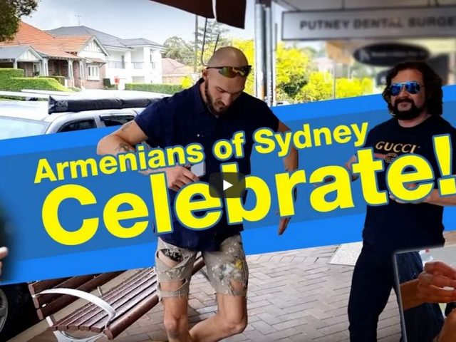 Armenians of Sydney celebrate Gladys Berejiklian resignation with Champagne and street dancing!