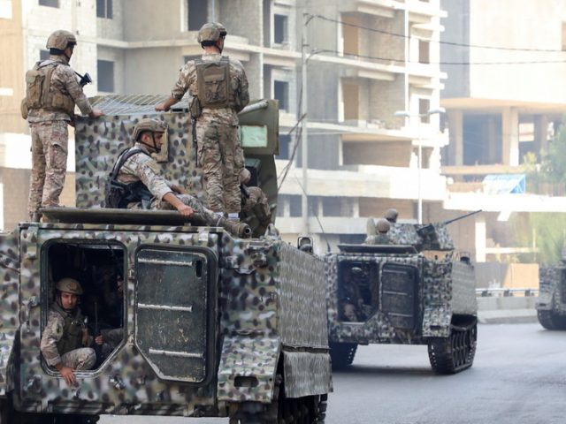 WATCH: Troops fire from armored vehicles as Beirut descends into chaos, resembling warzone