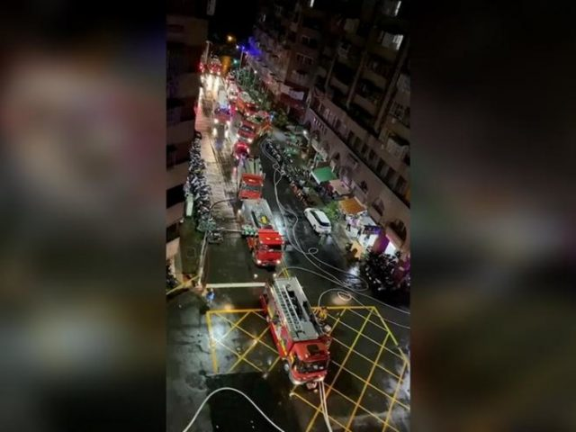 Death toll rises to 46 with dozens injured after fire engulfs Taiwan 'ghost building' overnight