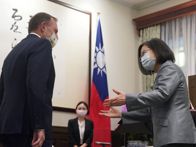 China tells Australia to 'drop Cold War mentality and ideological prejudice' after ex-PM Abbott visits Taiwan, pledging support