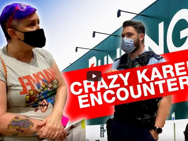 Bunnings Karen calls Crimestoppers! (Full version)
