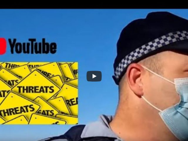 """""""I know who you are and will take action against you"""" – threats from Sargeant Kingston, NSW Police"""