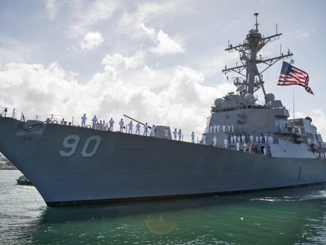 US Navy insists its destroyer was on a 'routine' mission after Russia summons military attache over Sea of Japan warship incident