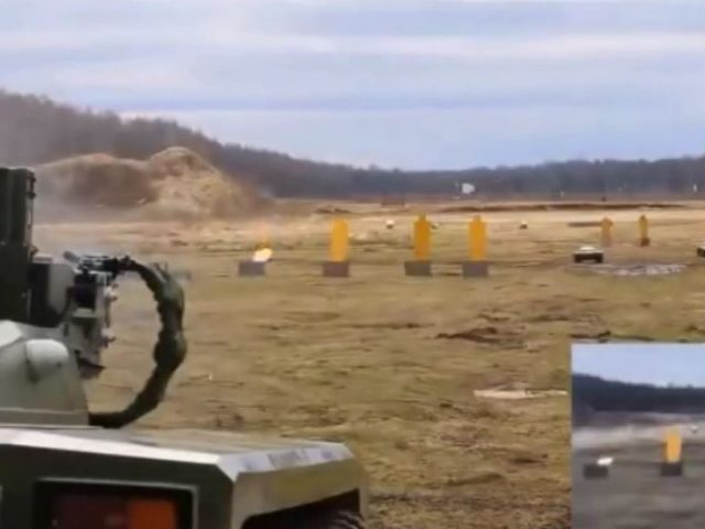 Russia's real life Robocop: Remote Far Eastern Vostochny spaceport to trial unmanned self-driving combat robot for patrol duty