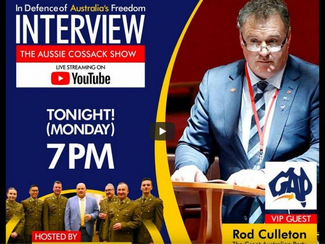 Rod Culleton & Aussie Cossack LIVE