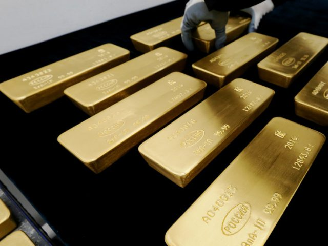Russia holds world's fifth-largest gold & foreign currency reserves