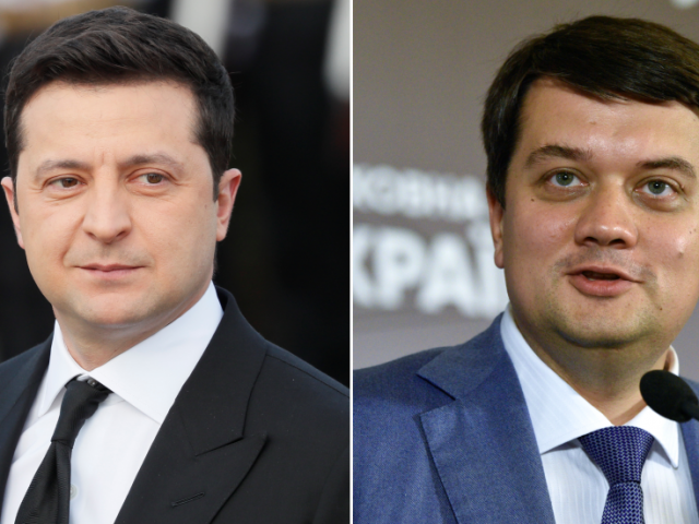Ukrainian president rallies party to oust speaker of Parliament: Zelensky continues to silence dissent & tighten grip on power