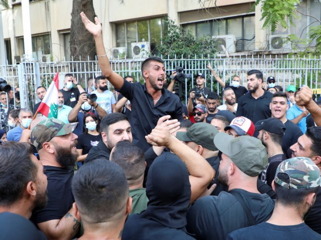 Death toll in Beirut's heavy gunfire rises to 5 as violent protests against port blast judge sweep capital, Lebanese army deployed