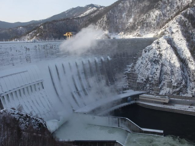 Russia has massive hydropower and wind energy potential