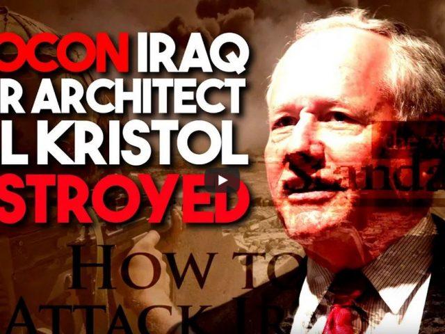 Neocon Iraq War architect Bill Kristol destroyed in debate with anti-war writer Scott Horton